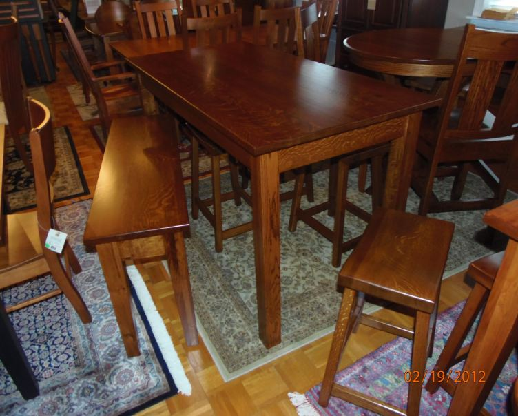 Customsolidtoptables for Rug furniture and mattress store